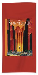New Yorker August 3rd, 2015 Hand Towel