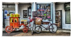 Ye Olde Sweet Shoppe Bath Towel by Steve Purnell