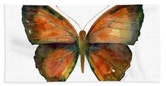 56 Copper Jewel Butterfly Hand Towel