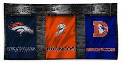 Denver Broncos Hand Towel