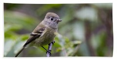Alder Flycatcher Bath Towel