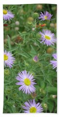 6 Asters Left Bath Towel