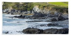 Cornish Seascape Gunwalloe Hand Towel
