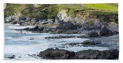 Cornish Seascape Gunwalloe Bath Towel