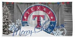 Texas Rangers Hand Towel