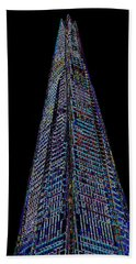 The Shard London Art Hand Towel