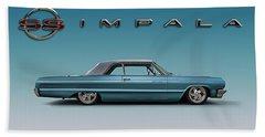 '64 Impala Ss Hand Towel