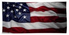 American Flag 52 Hand Towel