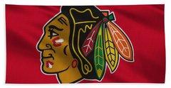 Chicago Blackhawks Uniform Bath Towel