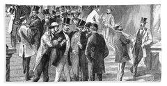 Johnson Impeachment, 1868 Bath Towel