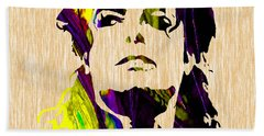 Michael Jackson Painting Hand Towel