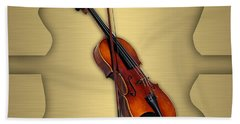Violin Collection Hand Towel