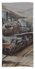 Severn Valley Railway Paintings Bath Towels