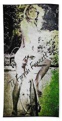 '77 Farrah Fawcett Bath Towel by Absinthe Art By Michelle LeAnn Scott