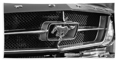 1965 Shelby Prototype Ford Mustang Grille Emblem Hand Towel