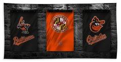 Baltimore Orioles Hand Towel