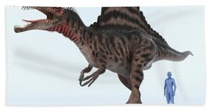 Dinosaur Spinosaurus Hand Towel