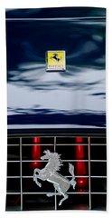 Ferrari Hood Emblem Bath Towel