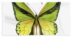 8 Goliath Birdwing Butterfly Bath Towel