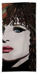 80's Barbra Hand Towel