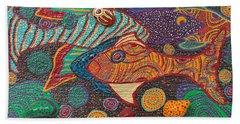 Ayahuasca Vision Bath Towel
