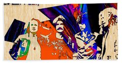 Led Zeppelin Hand Towel by Marvin Blaine