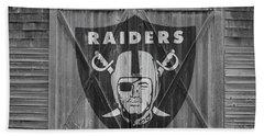 Oakland Raiders Hand Towel