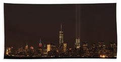9.11.2014  View From Staten Island Hand Towel