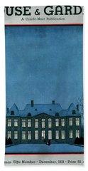 A 17th Century French Chateau Bath Towel