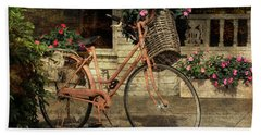 A Basketful Of Spring Hand Towel by HH Photography of Florida