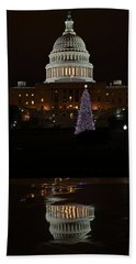 A Capitol Reflection Bath Towel