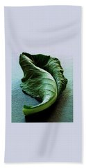 A Collard Leaf Bath Towel