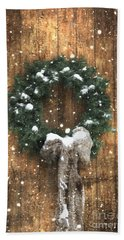 A Country Christmas Hand Towel