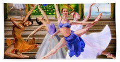 A Dance For All Seasons Bath Towel