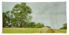 A Day At The Farm Hand Towel