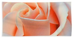A Delicate Rose Hand Towel