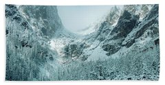 A Dream At Dream Lake Hand Towel by Eric Glaser