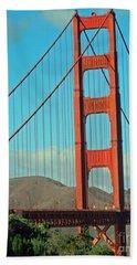 A Golden Gate View Hand Towel