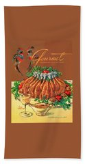 A Gourmet Cover Of Chicken Hand Towel by Henry Stahlhut