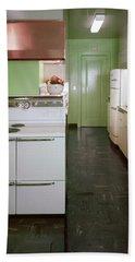 A Green Kitchen Bath Towel