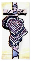 A Heart For Africa Cross Hand Towel