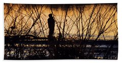 Hand Towel featuring the photograph A New Day by Robyn King