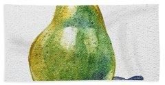 A Pear Hand Towel