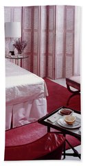A Pink Bedroom Hand Towel