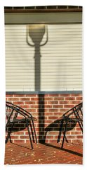 Hand Towel featuring the photograph A Place Where Shadows Meet by Gary Slawsky
