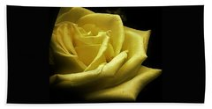 A Rose For You Hand Towel by Bruce Bley