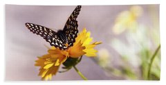 A Sip Of Coreopsis Hand Towel