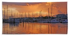 A Sky Full Of Wonder - Florida Sunset Hand Towel by HH Photography of Florida