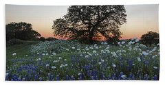 A Splendid Texas Sunset Hand Towel