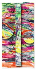 A Summers Day Breeze Hand Towel by Peter Piatt
